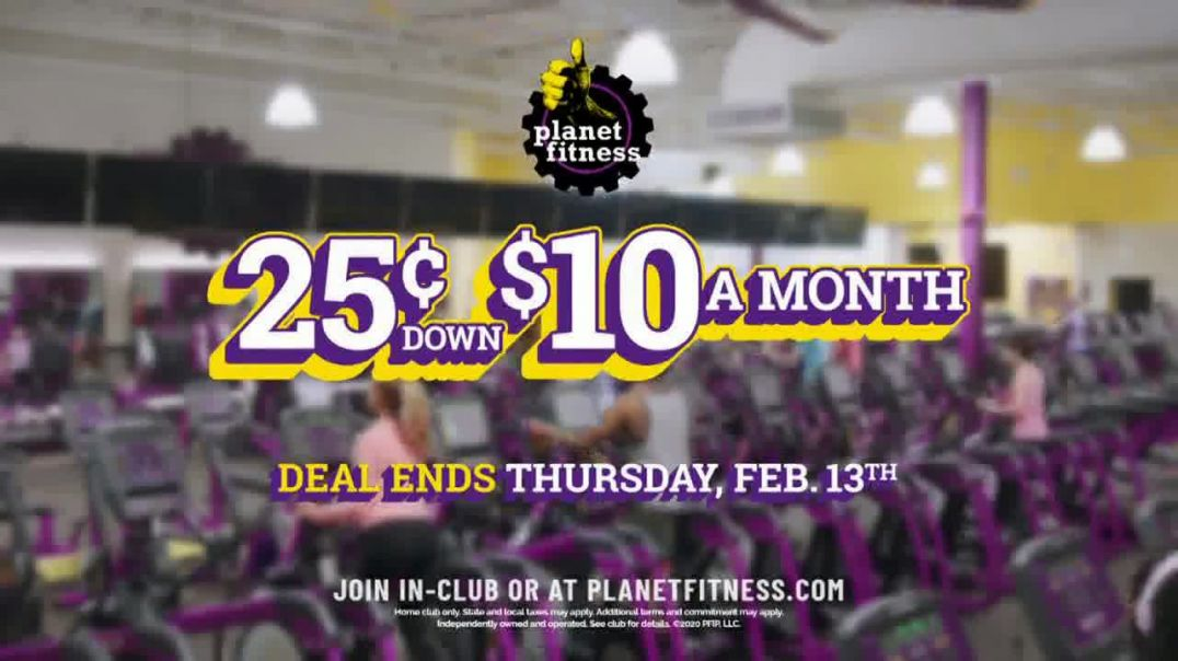 Planet Fitness TV Commercial Ad, Join Now.mp4