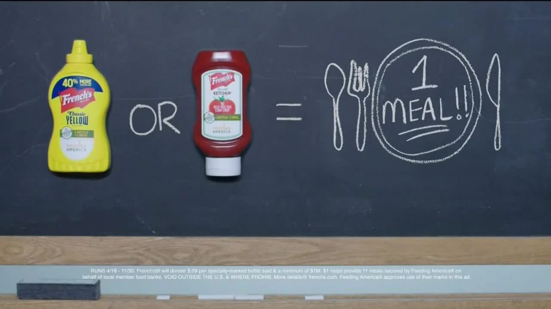 Frenchs TV Commercial Ad, Feeding America Sharing