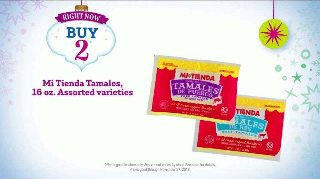 HEB TV Commercial Ad, Crush the Holiday Dinner Tamales and More.mp4