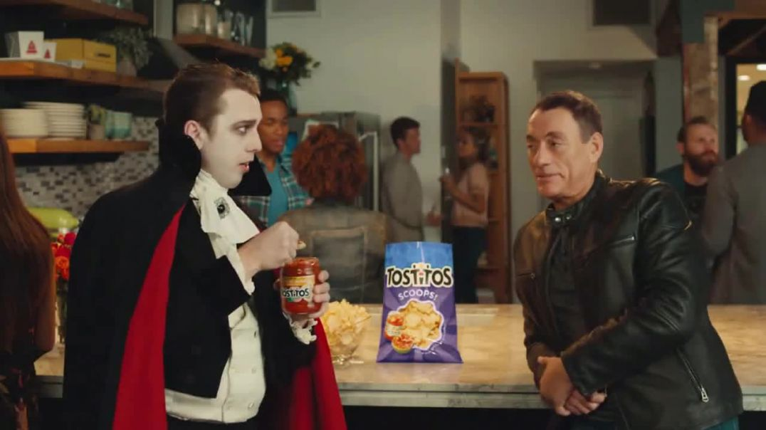Tostitos TV Commercial Ad, Friends Are Like Salsa Ft. JeanClaude Van Damme.mp4