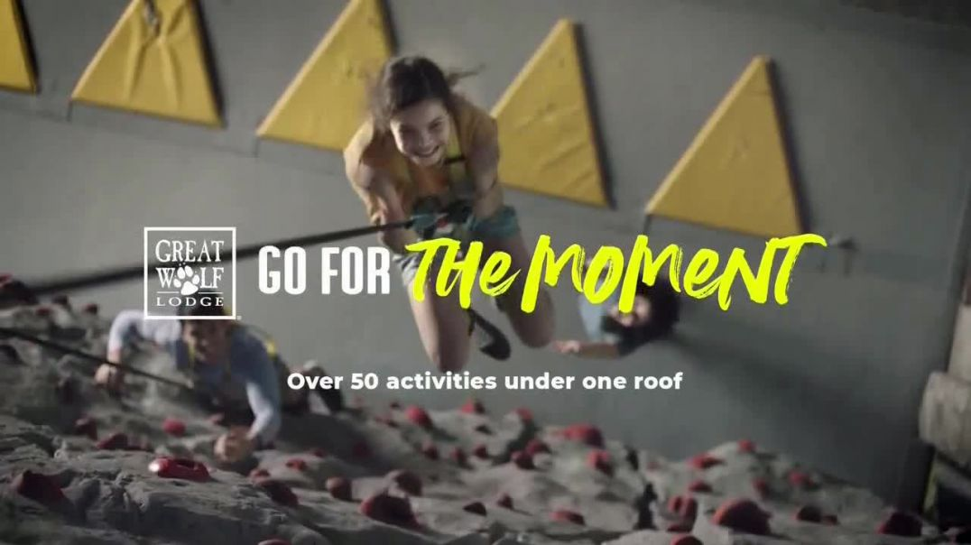 Great Wolf Lodge TV Commercial Ad, Go for the Moment Feels Like a Win.mp4