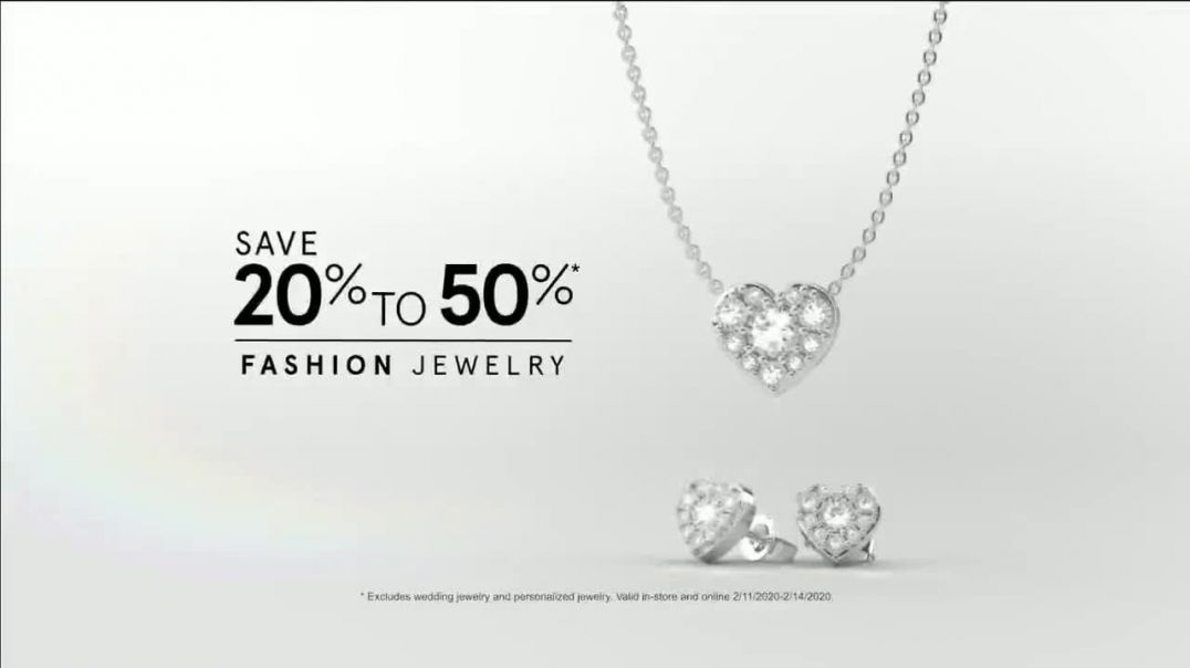 Kay Jewelers Valentines Day Event TV Commercial Ad, Win Her Heart 20 to 50 Percent Off.mp4