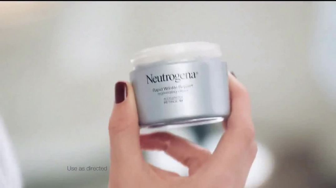 Neutrogena Rapid Wrinkle Repair TV Commercial Ad, One Week Younger Skin Featuring Nicole Kidman.mp4