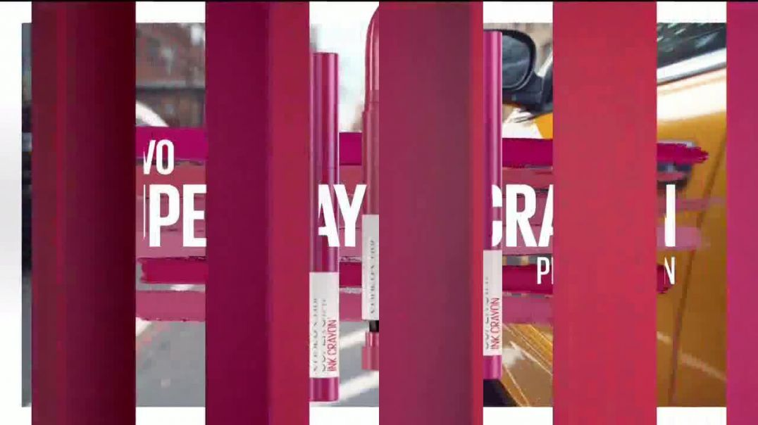 Maybelline New York SuperStay Matte Ink TV Commercial Ad, Dura hasta 16 horas.mp4