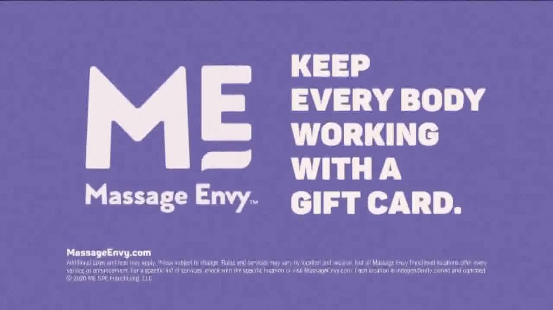 Massage Envy TV Commercial Ad, Regularity Gift Card.mp4