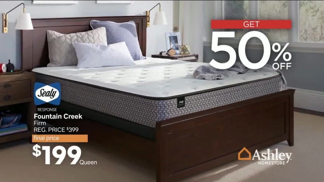 Ashley HomeStore Presidents Day Mattress Sale TV Commercial Ad, Save up to $500 Song by Midnight Rio