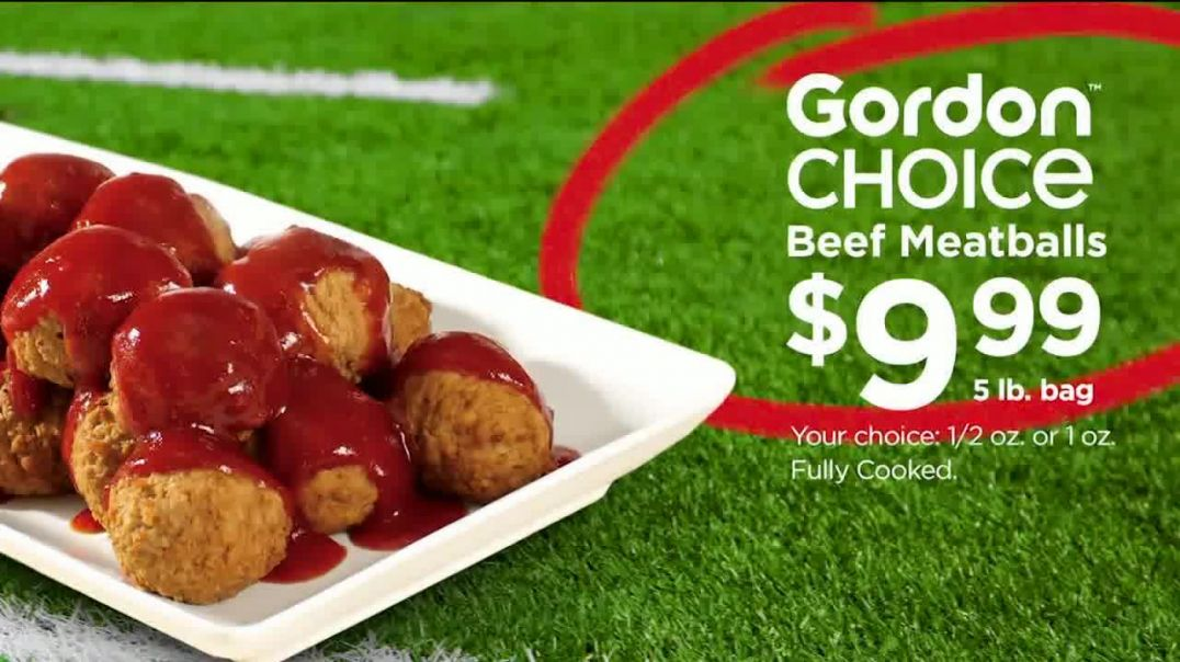 Gordon Food Service Store TV Commercial Ad, Tackle Game Day