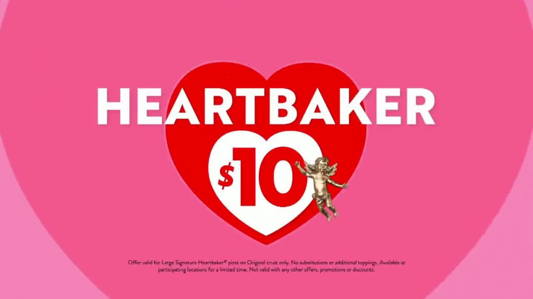 Papa Murphys Heartbaker Pizza TV Commercial Ad, Valentines Day $10.mp4
