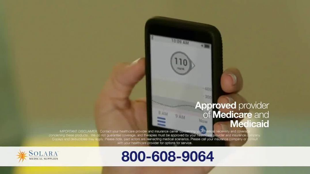 Solara Medical Supplies TV Commercial Ad, Living With Diabetes