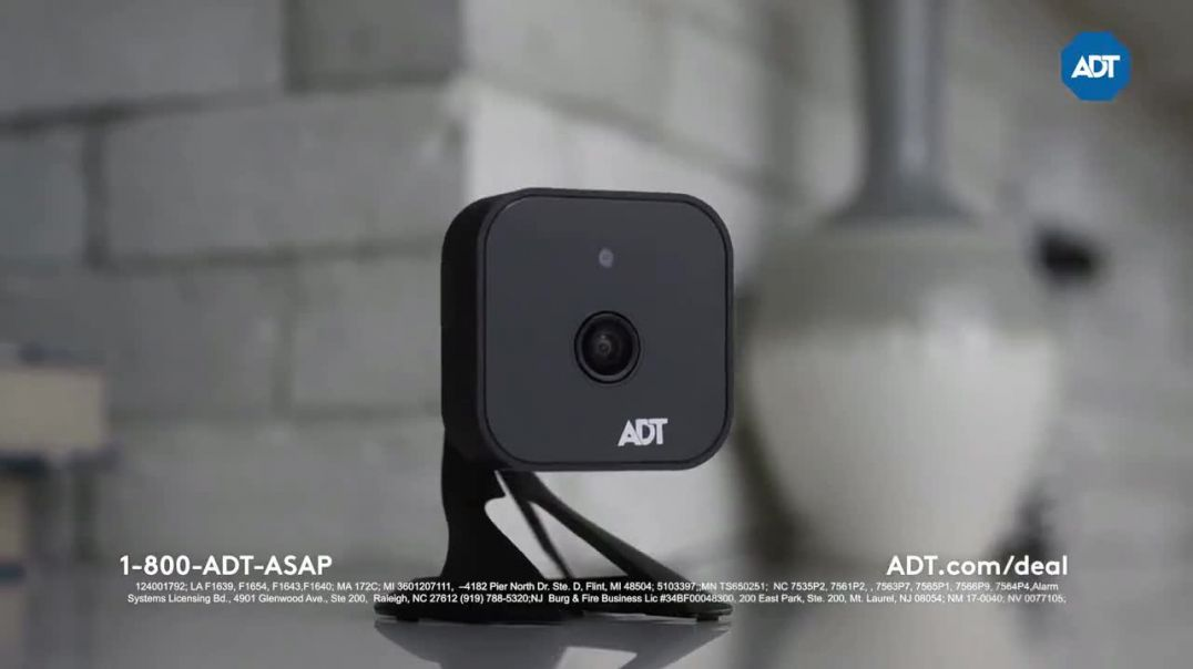 ADT Smart Home Security Sale TV Commercial Ad, All These Things Combined Free Install Featuring Jona