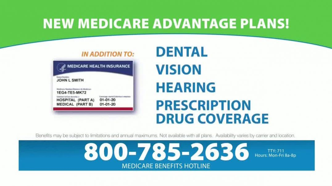 Medicare Benefits Helpline TV Commercial Ad, Attention New Plans.mp4