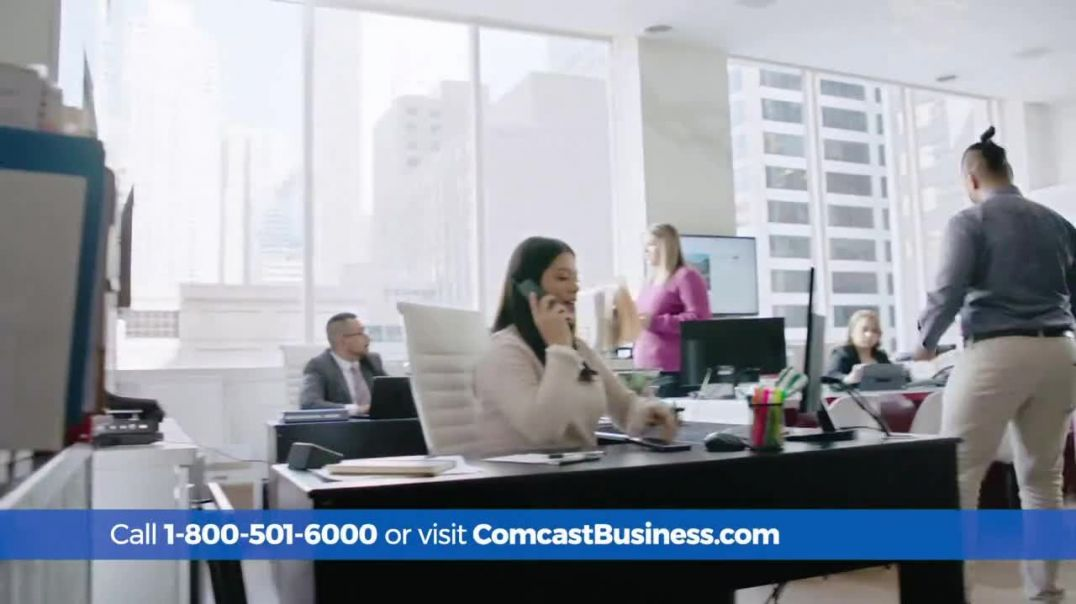 Comcast Business TV Commercial Ad, Connected Speed Upgrade.mp4
