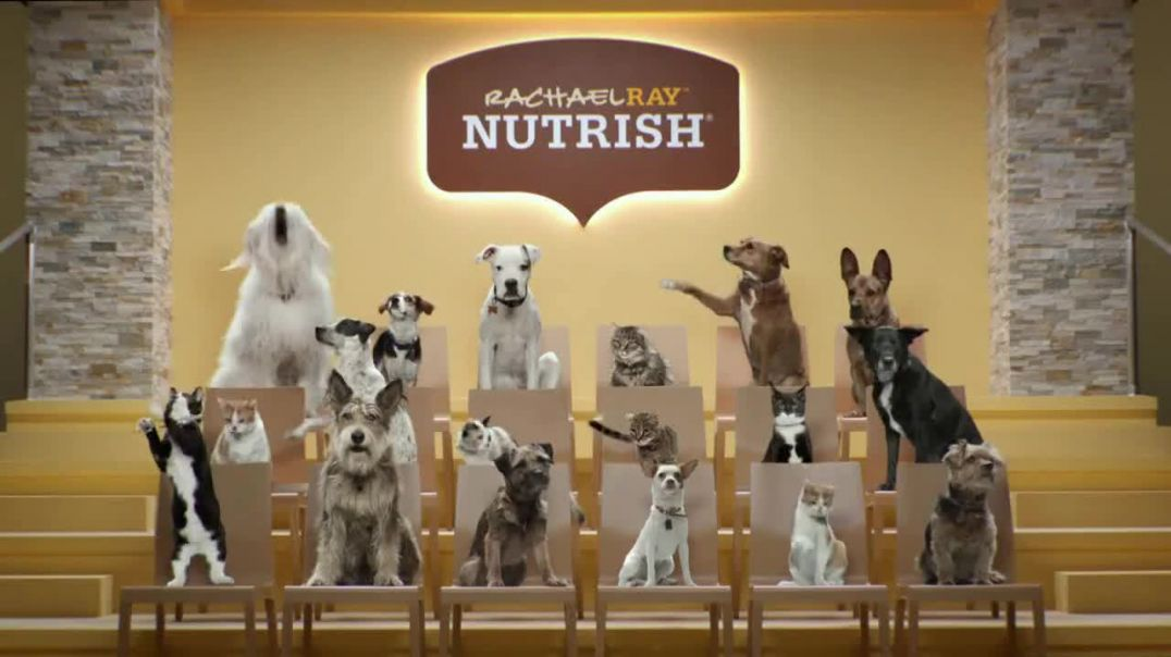 Rachael Ray Nutrish TV Commercial Ad, Animal Audience.mp4