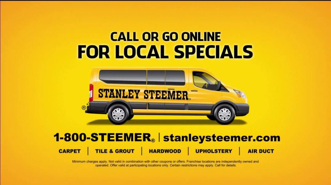 Stanley Steemer TV Commercial Ad, Clean and Healthy Local Specials.mp4