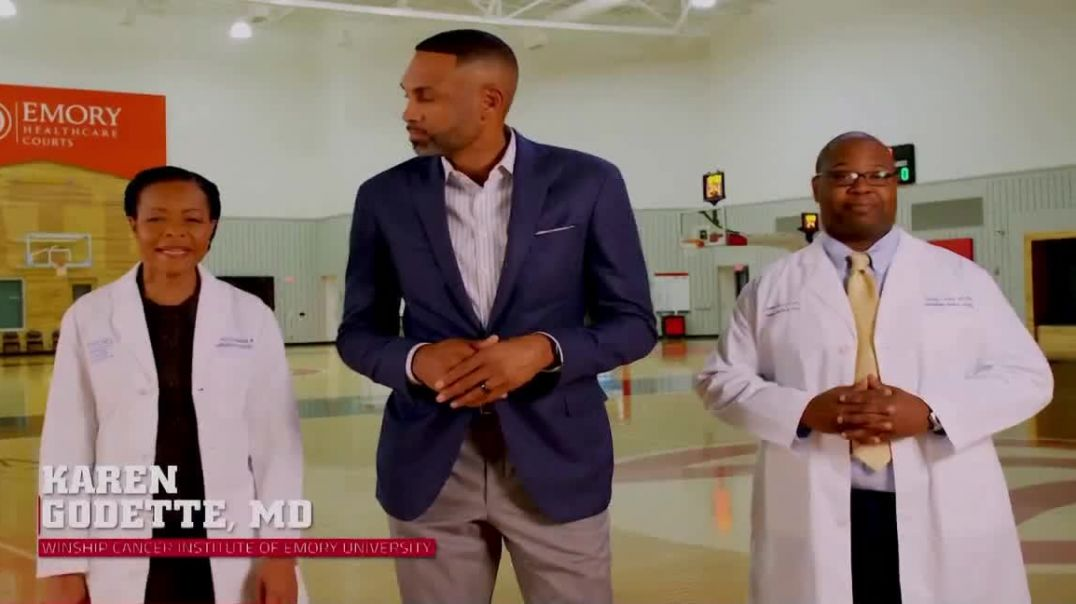 Atlanta Hawks TV Commercial Ad, Do Your Part Prostate Cancer Featuring Grant Hill.mp4