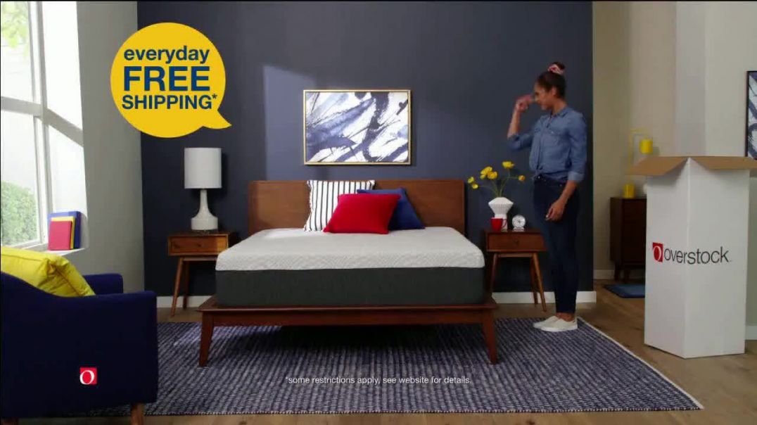 Overstock.com Presidents Day Blowout TV Commercial Ad, Refresh Your Space.mp4