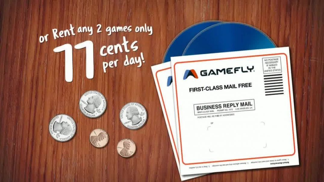 GameFly.com TV Commercial Ad, Spare Change.mp4