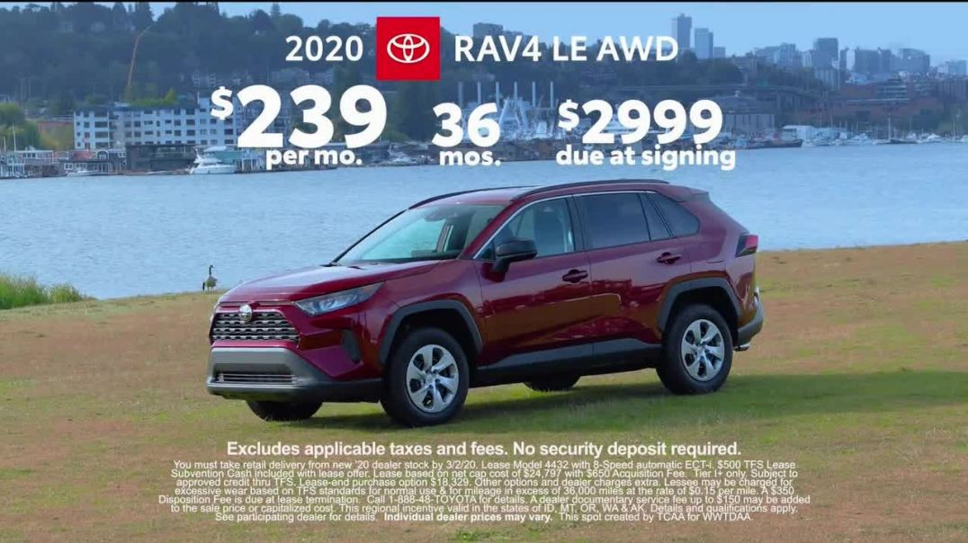 2020 Toyota RAV4 TV Commercial Ad, Western Washington Road Trip Chelsea Farms Ft. Danielle Demski.mp