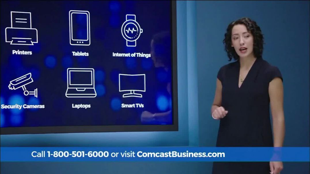 Comcast Business SecurityEdge TV Commercial Ad, Daily Security Updates