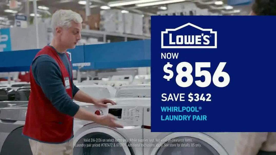 Lowes Presidents Day Event TV Commercial Ad, Outdated Appliances