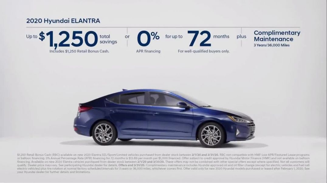 2020 Hyundai Elantra TV Commercial Ad, Only Takes a Second.mp4