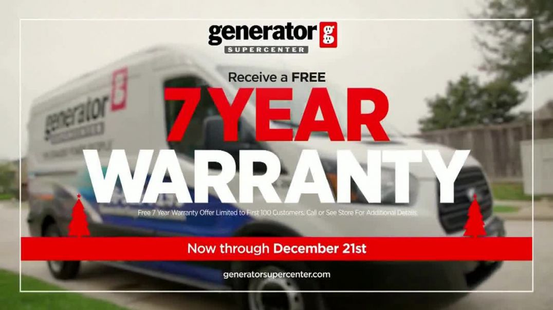 Generator Supercenter TV Commercial Ad, Giving Back Two Free Gifts.mp4