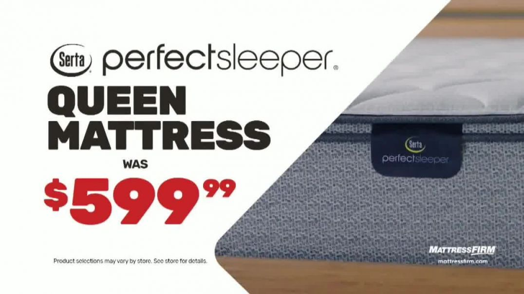 Mattress Firm Presidents Day Sale TV Commercial Ad, Save Up to $600