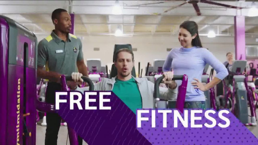 Planet Fitness TV Commercial Ad, Flip Truck Tires 25 Cents Down, $10 a Month.mp4