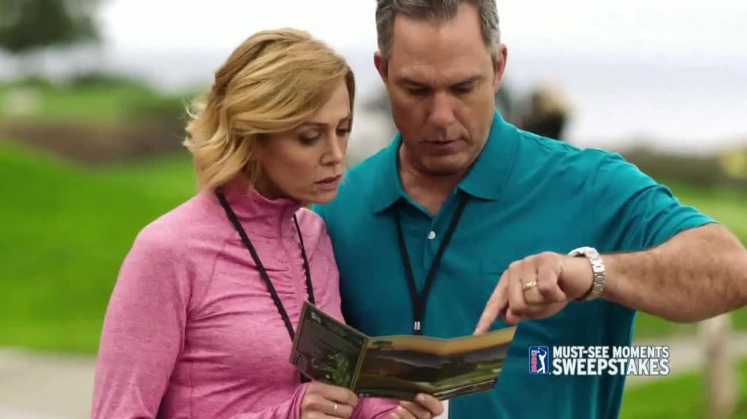 PGA TOUR MustSee Moments Sweepstakes TV Commercial Ad, Grand Prize Winner