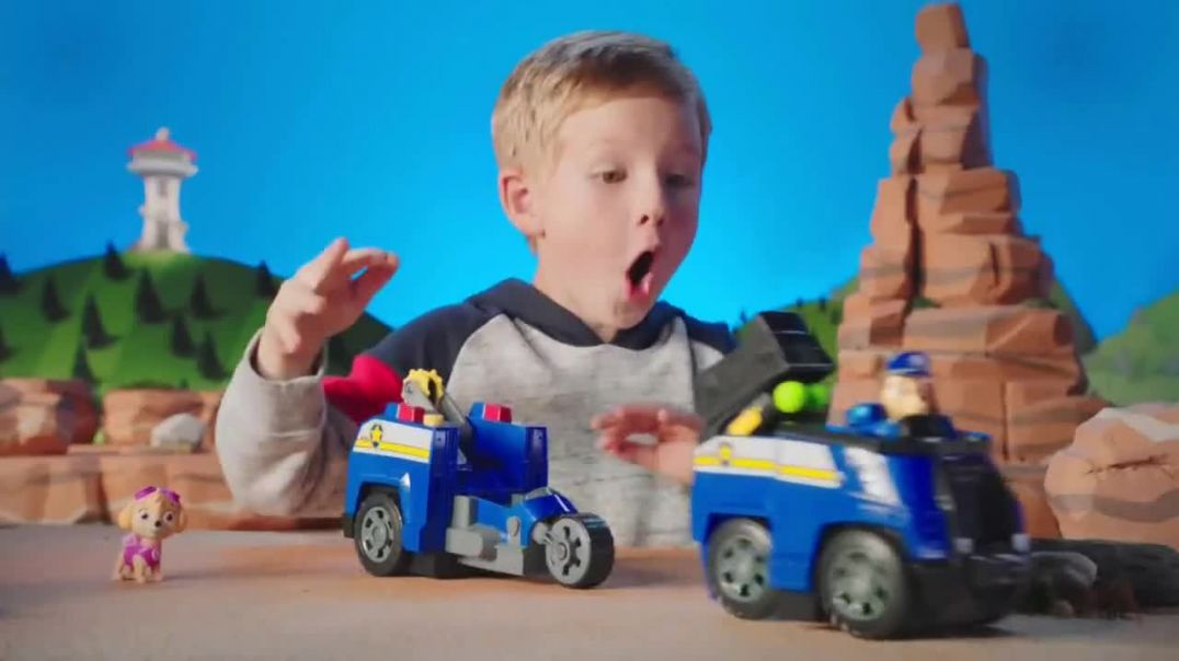PAW Patrol Split Second Vehicles TV Commercial Ad, Split Up, Double Up.mp4