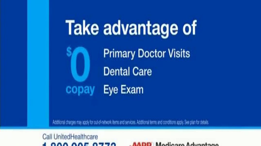 UnitedHealthcare AARP Medicare Advantage Plan TV Commercial Ad, If Youre Retiring Soon.mp4
