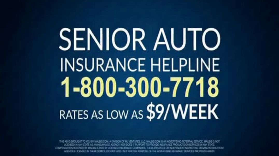 Senior Auto Insurance Helpline TV Commercial Ad, Check for Better Auto Insurance.mp4
