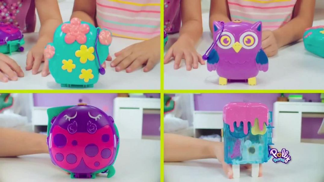 Polly Pocket Compacts TV Commercial Ad, Hows the View