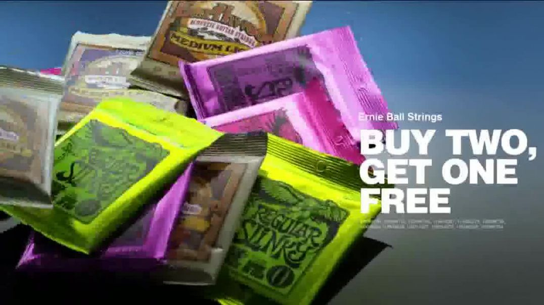 Guitar Center Presidents Day Sale TV Commercial Ad, You Want Gear
