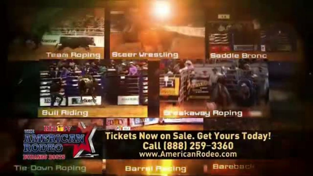 The American Rodeo TV Commercial Ad, 2020 Dallas AT&T Stadium.mp4
