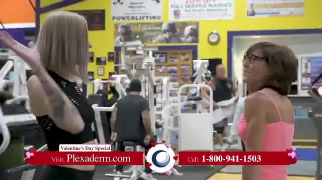 Plexaderm Skincare Valentines Day Special TV Commercial Ad, 10Minute Challenge