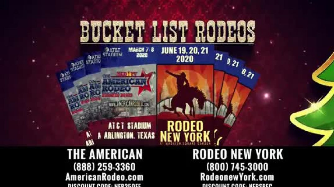The American Rodeo TV Commercial Ad, 2020 New York AT&T Stadium