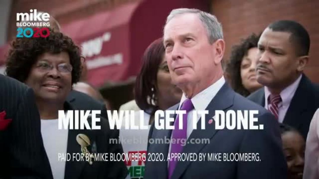 Mike Bloomberg 2020 TV Commercial Ad, Our Slogan