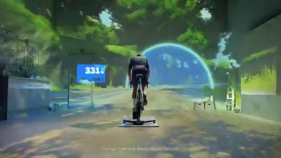 Zwift TV Commercial Ad, Chase Featuring Mathieu van der Poel.mp4