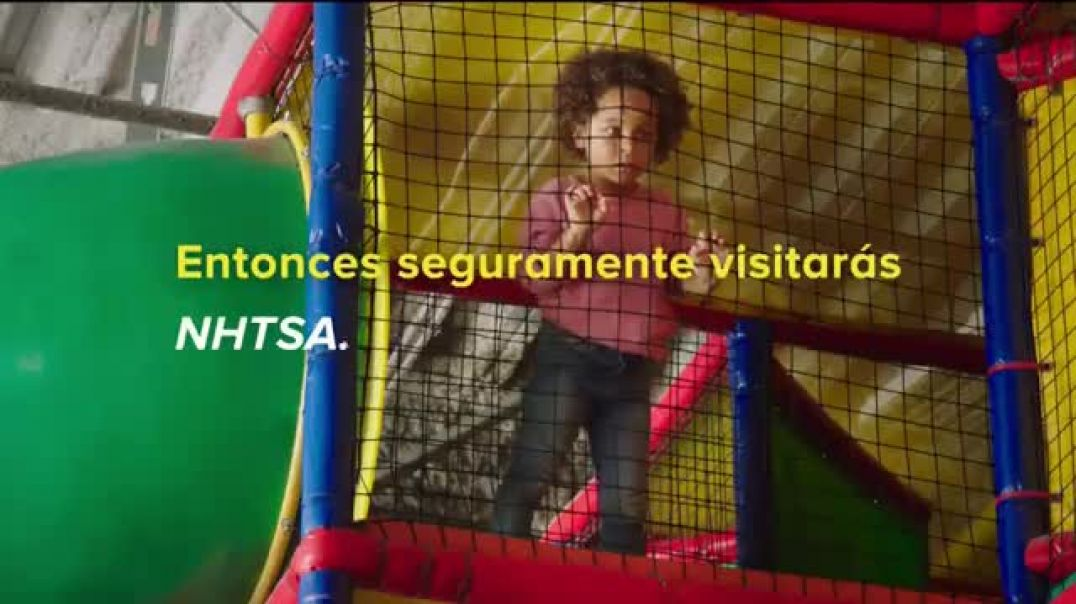 NHTSA TV Commercial Ad, Protegidos If You Love Them Enough.mp4