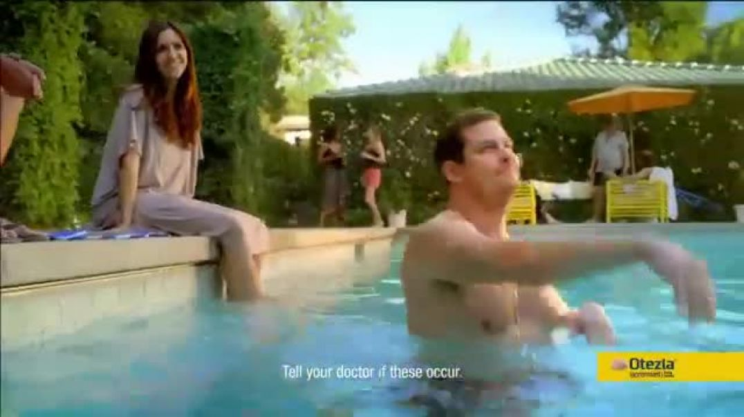 Otezla TV Commercial Ad, Little Things Pool