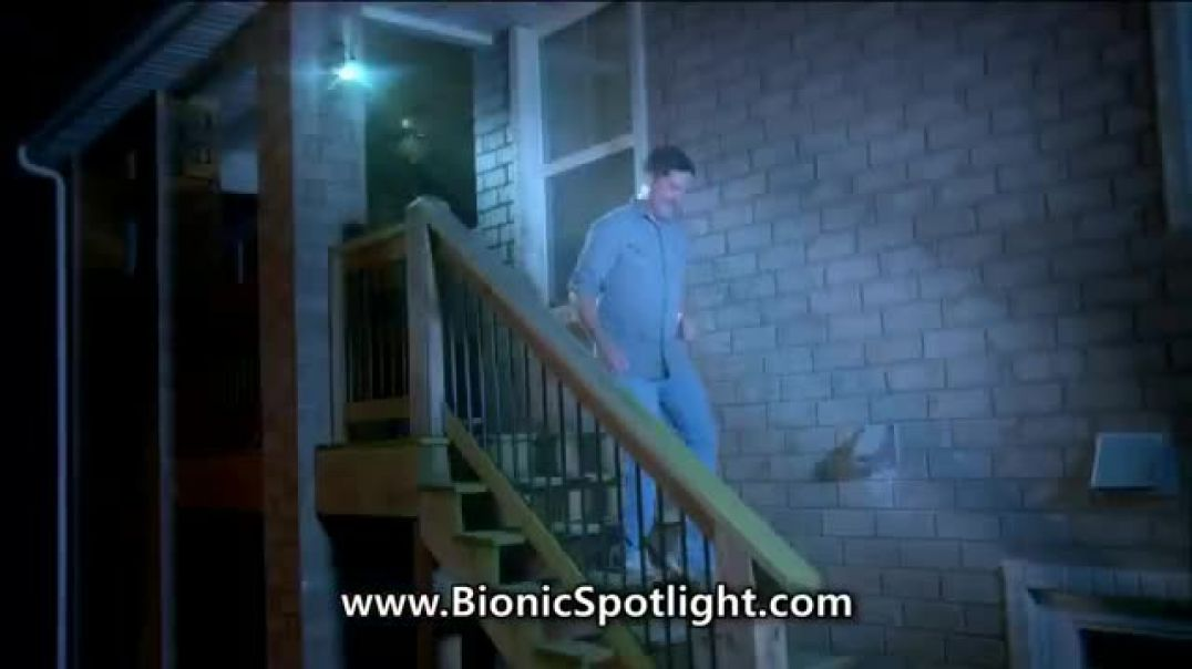 Bell + Howell Bionic Spotlight TV Commercial Ad, Outdoor Lighting