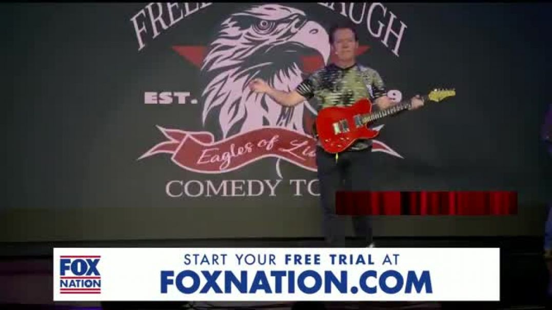 FOX Nation TV Commercial Ad, Freedom to Laugh Comedy Tour