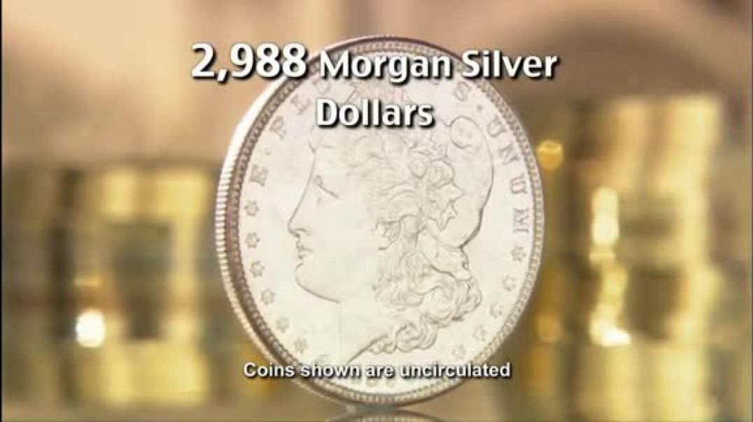 National Collectors Mint TV Commercial Ad, Morgan Silver Dollar Just Located!