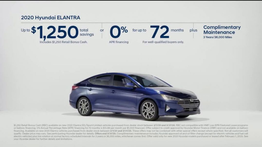 2020 Hyundai Elantra TV Commercial, Only Takes a Second Commercial.mp4
