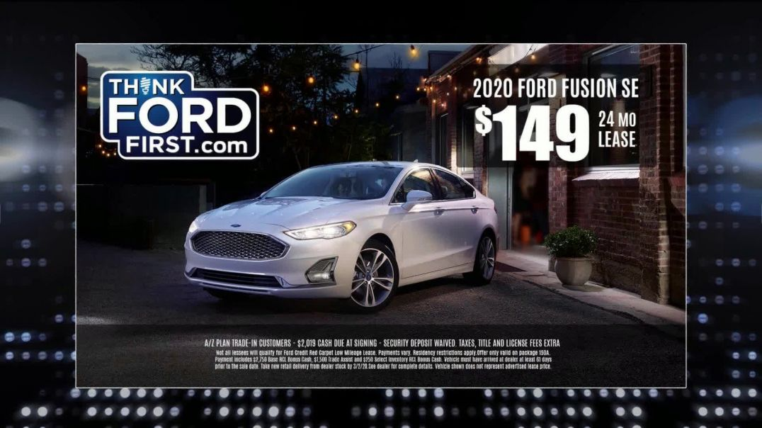 2020 Ford Fusion SE TV Commercial, NBC Detroit Sports Desk Commercial.mp4