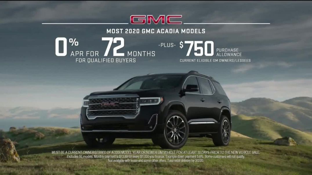 GMC Acadia TV Commercial, Weekend Starts Now Song by Sugar Chile Robinson Commercial.mp4