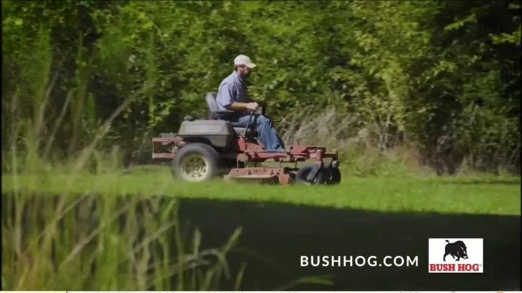 Bush Hog TV Commercial Ad, Over 25 Years.mp4