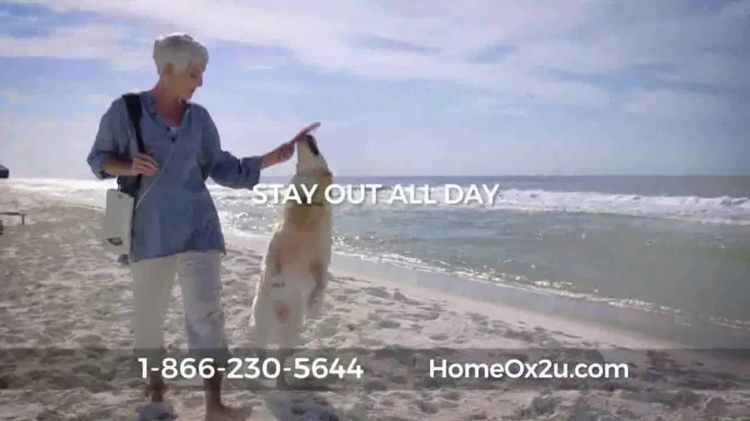 Home Oxygen 2U Portable Oxygen Concentrator TV Commercial Ad, Beach