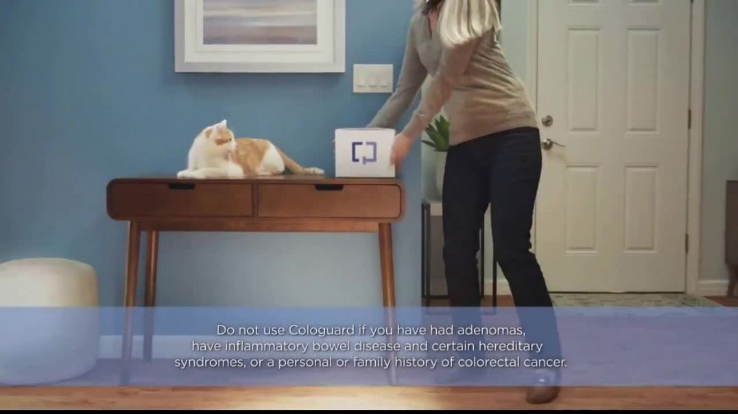 Cologuard TV Commercial Ad, Around the House $0